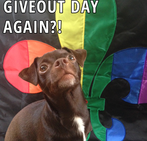 GiveOUT Day extended until 5/16