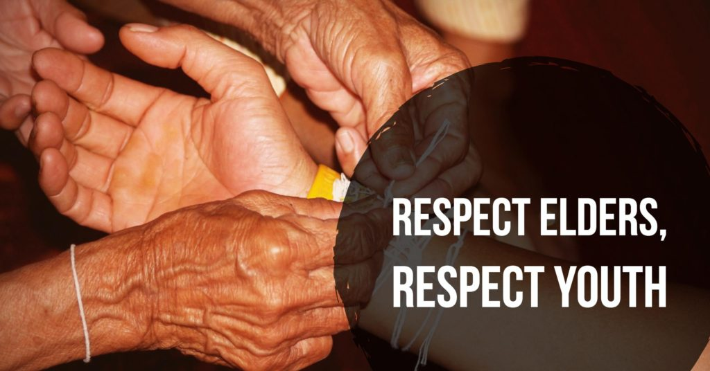 Respect elders, respect youth