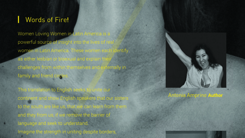 """""""Words of Fire! Women Loving Women in Latin America"""" Book Tour Comes to The Center"""