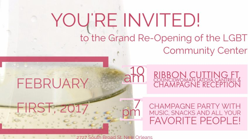 Grand Re-Opening Ribbon Cutting & Party
